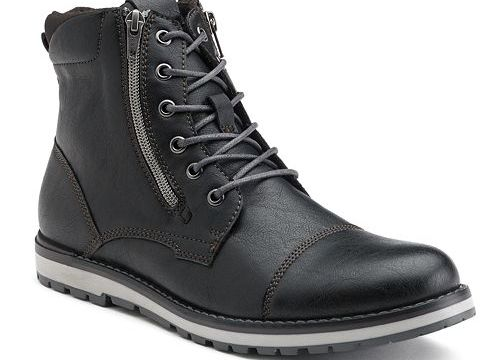 Rock & Republic Men's Lace Up Boots for $21 + pickup at Kohl's