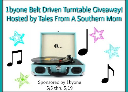 Belt Driven Turntable from 1byone 5/5 – 5/19