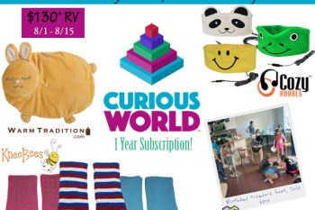 It's Fun To Be A Kid Giveaway 8/1 -8/15