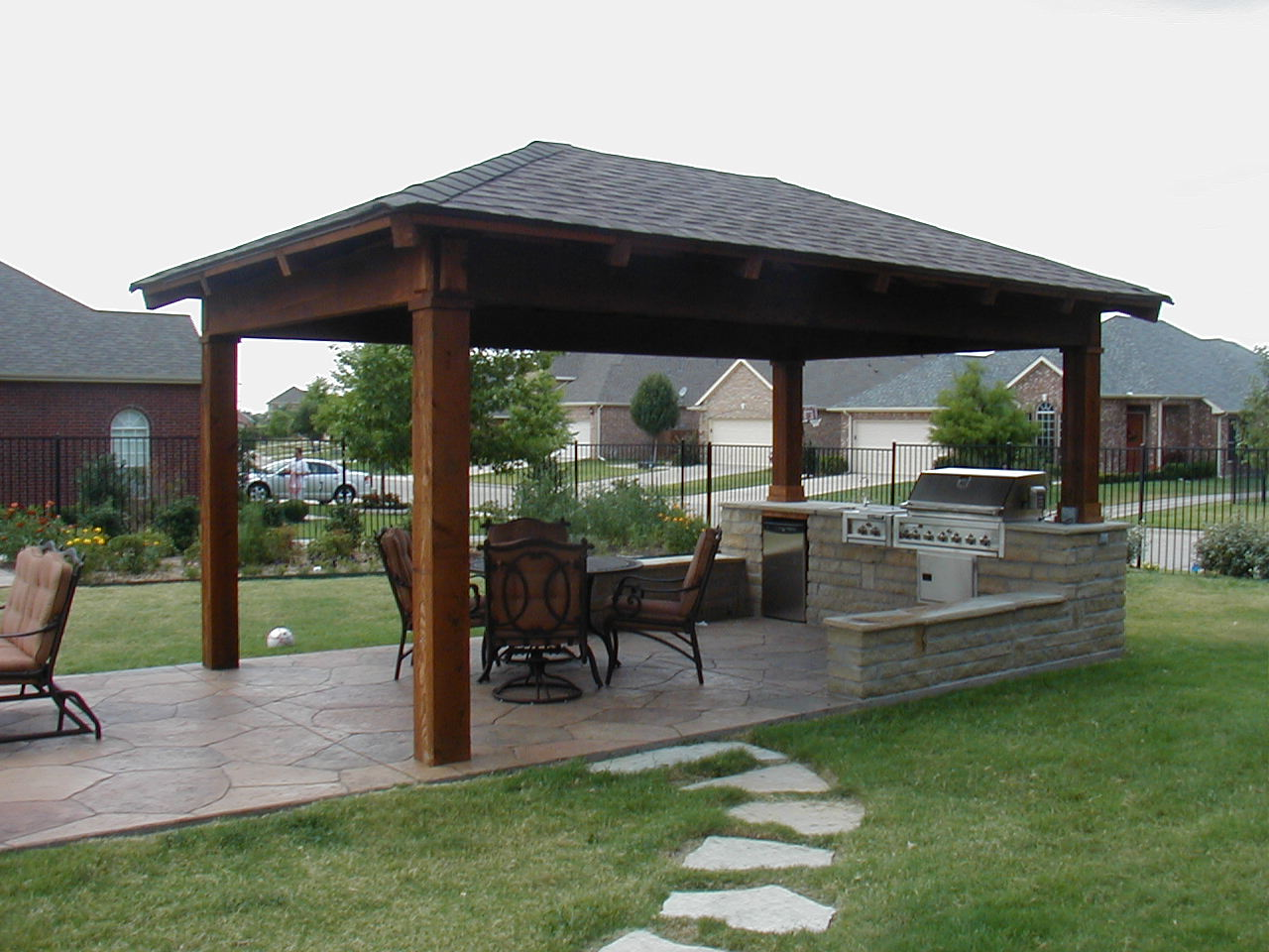outdoor kitchen outdoor kitchen design Create an Oasis in Your Backyard with an Outdoor Kitchen and Living Area