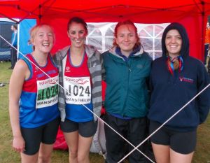 Our ladies team at the 2013 National Relays in Mansfield