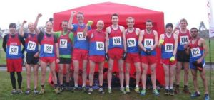 Our Senior Men at the Met League Cross Country