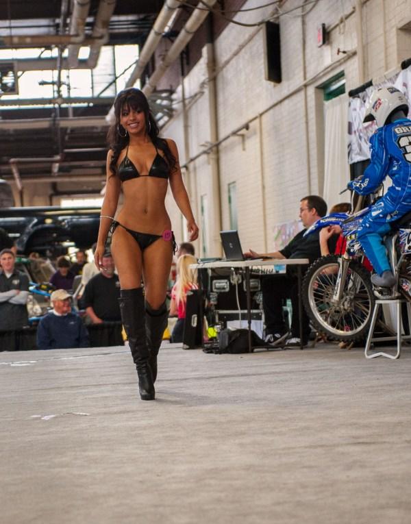 Ms Motorama 2012 Pageant 1st Runner up - Playboy Cybergirl, Kayla Cassandra, Pennsylvania Farm Show Complex, Harrisburg, PA