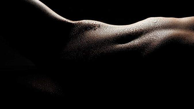 High contrast bodyscapes of Carly Shae from my tutorial video, High Contrast Nude Photography – How to light and shoot bodyscapes