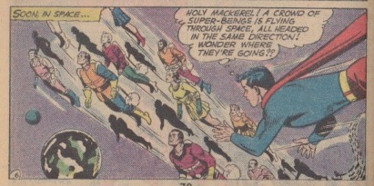 On the way to Superboy Planet!