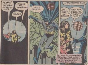 Batman and Balloon