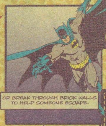 Batman close-up