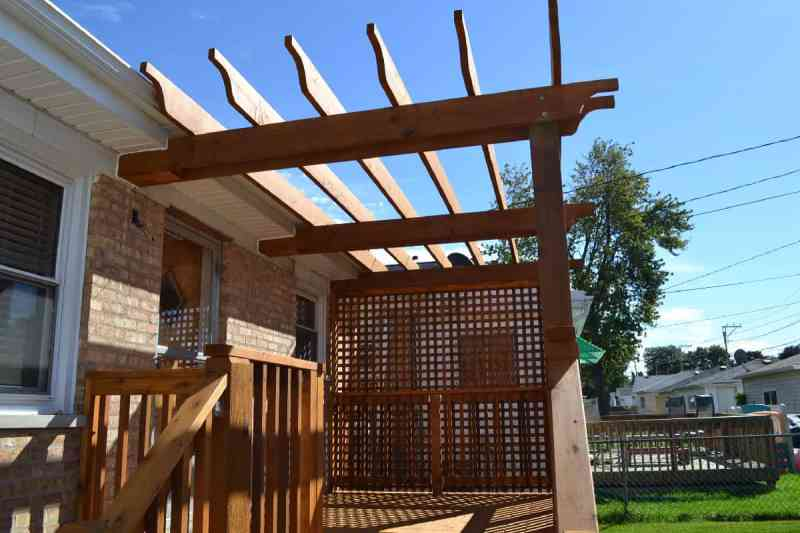Large Of Deck With Pergola