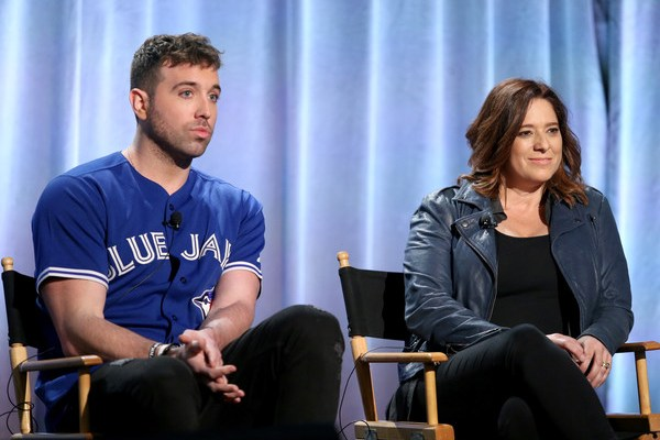 TV personality/recording artist Mike Stud (L) and producer Alexandra Lipsitz speak onstage during the 'This is Mike Stud' panel at the 2016 NBCUniversal Summer Press Day at Four Seasons Hotel Westlake Village on April 1, 2016 in Westlake Village, California.