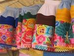 Toetjes op de Feria Dominical in Huancayo