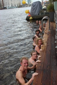 2016-02-07 Workshop Wim Hof Methode - Zwemmen in de Amstel