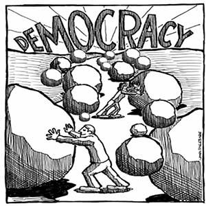 عوامل بازدارندۀ دموكراسی در افغانستان
