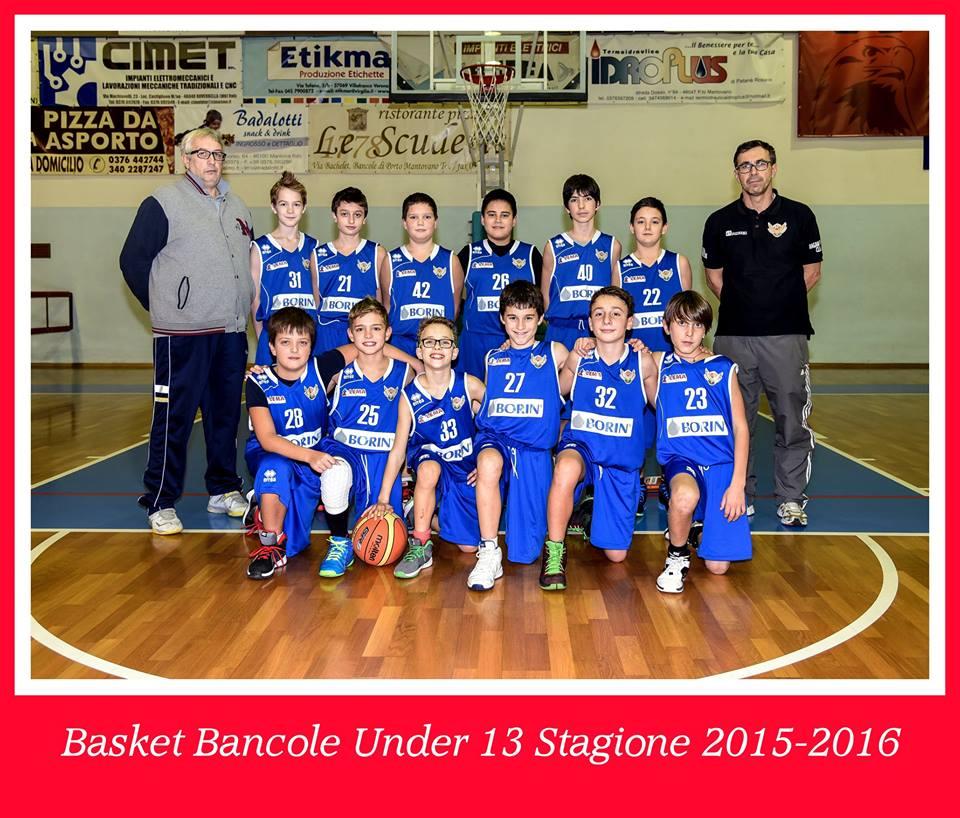 Under 13 2015-2016