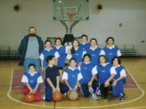 Minibasket femminile 1996-1997