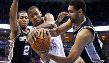 San Antonio Spurs vs Oklahoma City Thunder NBA 6543