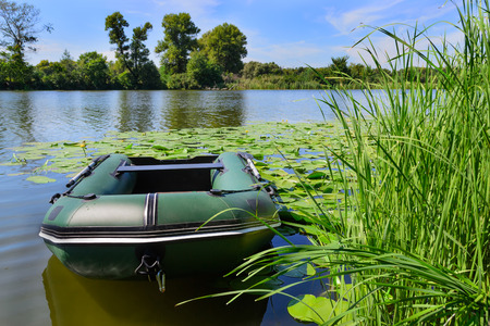 How to clean and store inflatable fishing boat