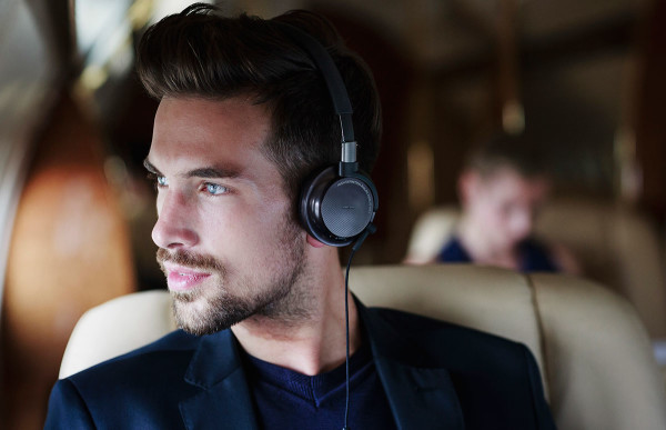 Invest in active noise cancelling headphones that can cancel out most background noise 2