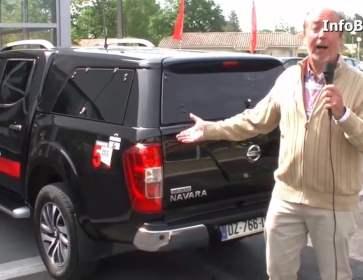 Essai du Nissan Navarra VP300
