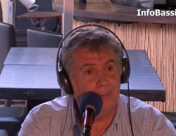 Face à la Presse  Jean-Yves Rosazza, maire d'Andernos, sur Radio Cap Ferret avec IB
