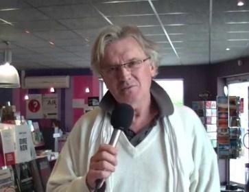 Guy Rechenmann présente Flic de Papier, avant le salon d'Arès