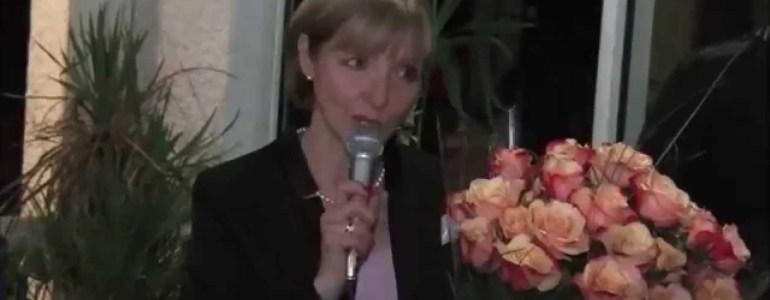 InfoBassin Marie Larrue, élue maire de Lanton, le 23.3.14
