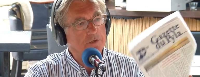 J. Storelli, Président de la CEBA, face à la Presse