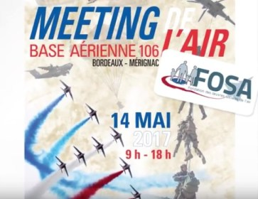 meeting merignac affiche