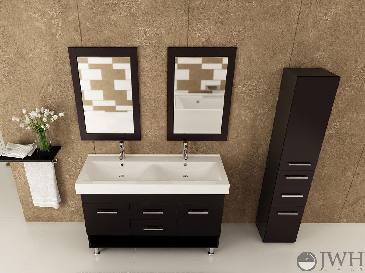 Innovative Rigel Sink Vanity Rigel Bathroom Vanity Espresso Sink Bathroom Vanities 84 Inches Sink Bathroom Vanities Cheap houzz 01 Double Sink Bathroom Vanities