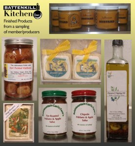 products produced at battenkill kitchen