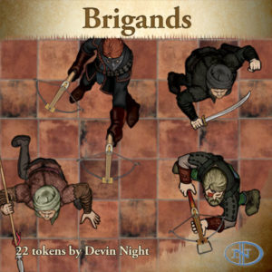 Devin Night's Token Pack #21: Brigands