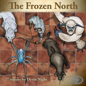 Devin Night's Token Pack #24: The Frozen North