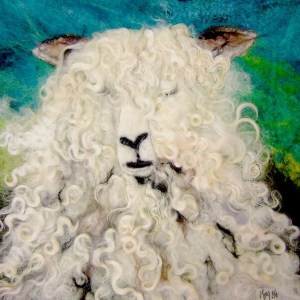 Moy Mackay - Lincoln Longwool Greeting Card