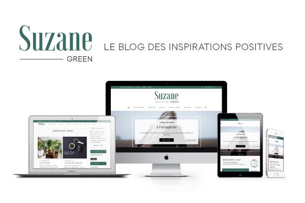SUZANE GREEN – LOGO & SITE