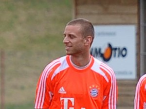 David Vržogić training in Trentino