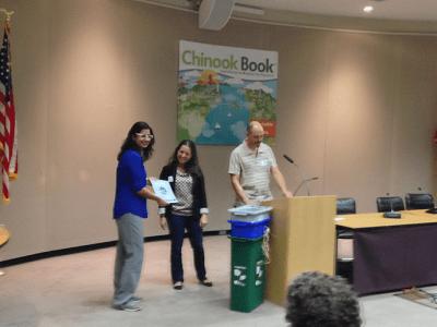 Fremont Dentist Dr Harika Receiving Green Business Award