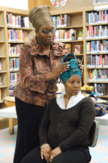 news12 First Saturday Family Fun at the Schomburg: Make African Head Wraps 