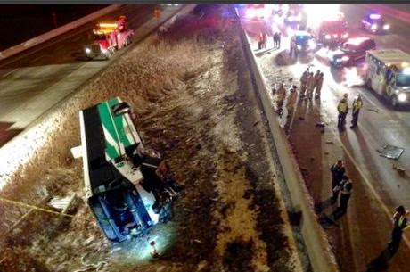 Woman killed in GO bus rollover on Highway 407