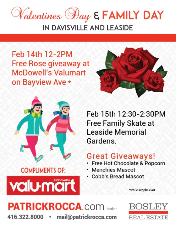 Free roses and other goodies for Valentine's