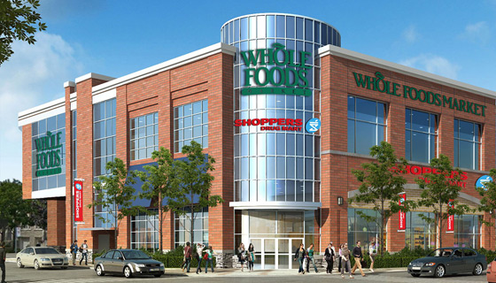 Whole Foods, Shopper's delayed til Fall at 1860 Bayview