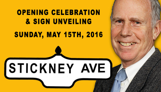 Ceremony to name Stickney Avenue to be held May 15
