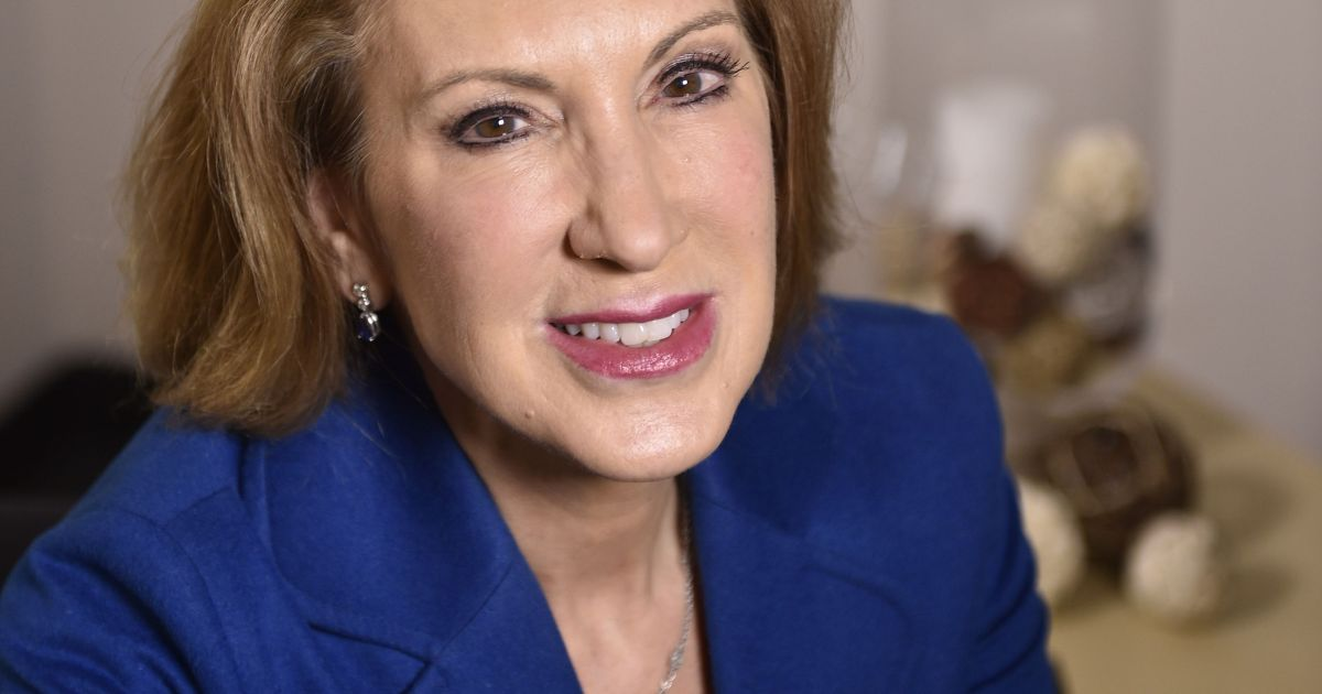 Here's what Carly Fiorina says she will do to the Supreme Court