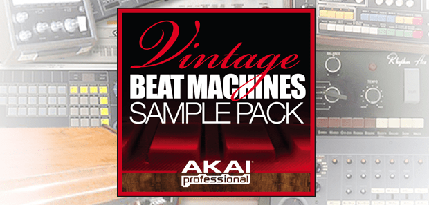 FEATURED DRUM SAMPLE KIT: Akai Pro Vintage Beat Machines Sample Pack