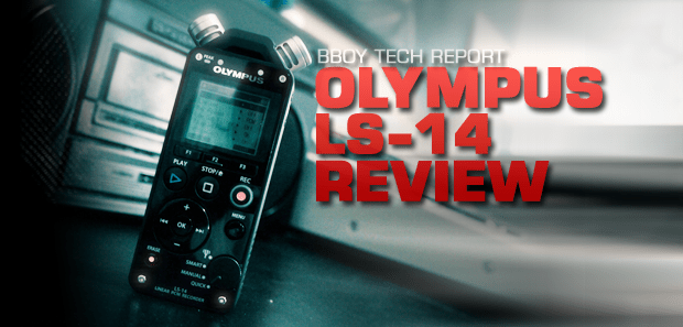 Olympus LS-14 Linear PCM Recorder Review