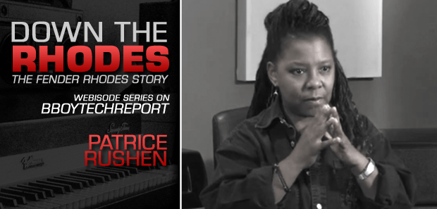 DOWN THE RHODES: PATRICE RUSHEN