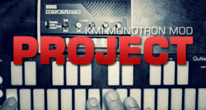PROJECT: Monotron Modded for CV Control wIth QuNexus