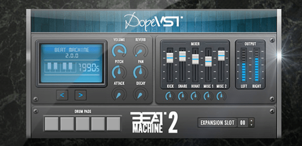 Dope VST Introduces Beat Machine 2.0