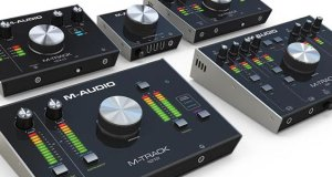 M-Audio Announces M-Track Audio Recording/Monitoring Interfaces