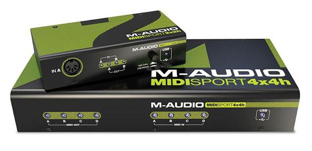 NEW M-Audio MIDISport Hub 4x4 and 2x2
