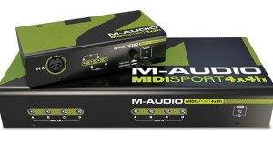 NEW M-Audio MIDISport Hub 4×4 and 2×2