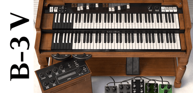 Arturia is Proud to Announce Availability of B-3 V